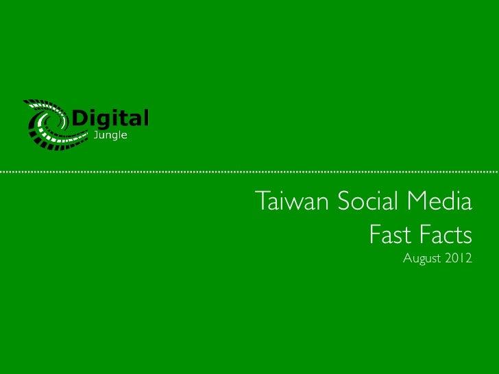 Taiwanese Internet & Social Media Landscape