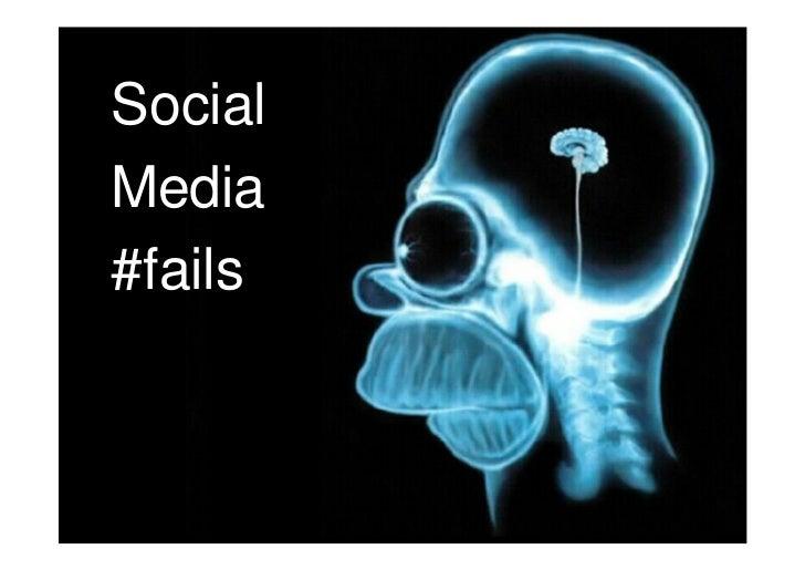 Social Media #Fails