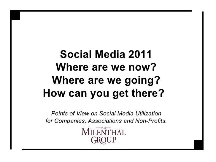 Social Media 2011: Fairfield Chamber of Commerce
