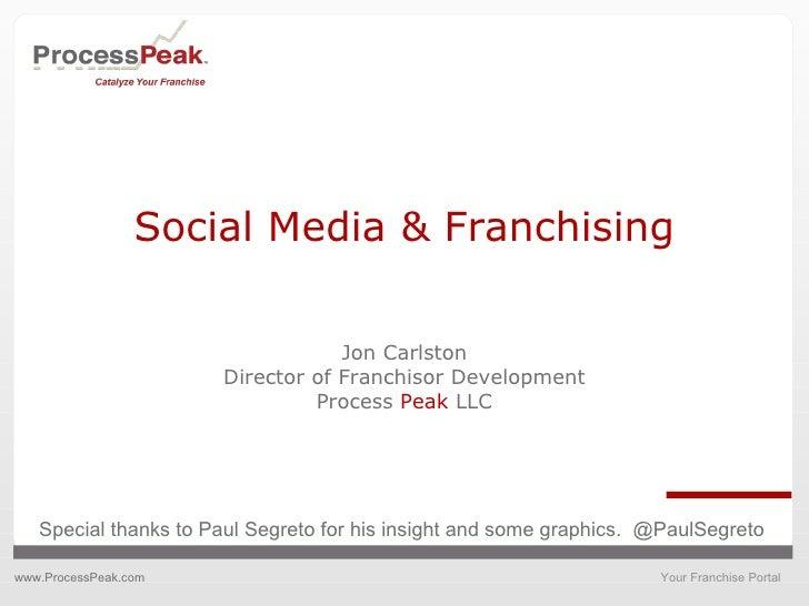 Social Media and Franchising