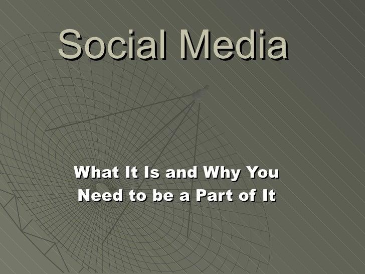 Chamber of Commerce Social Media Presentation