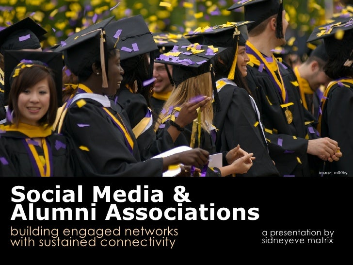 Social Media for Alumni Associations