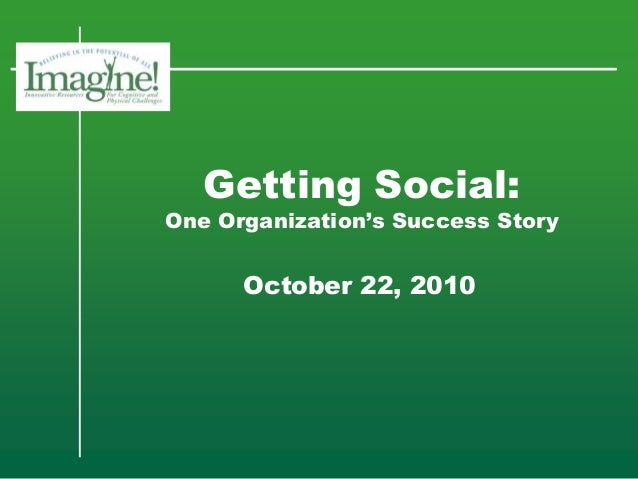 Getting Social: One Organization's Success Story
