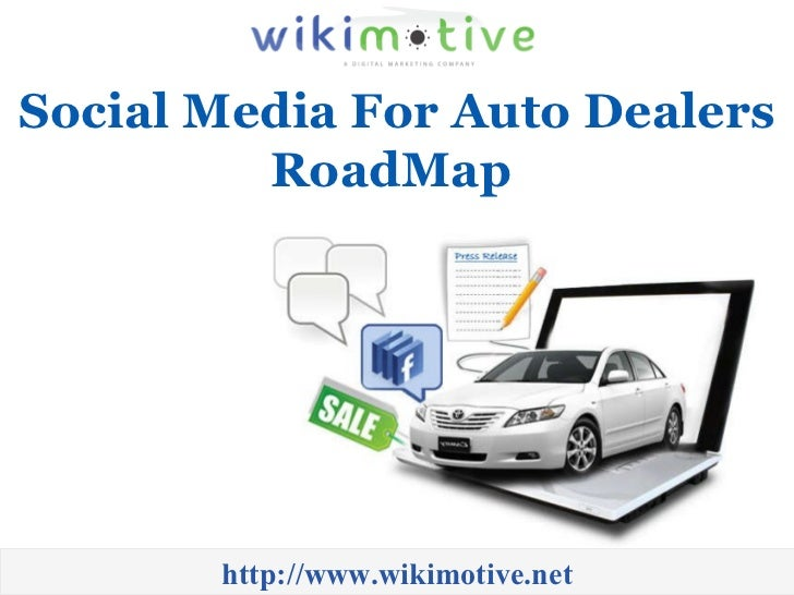 Social Media For Auto Dealers RoadMap