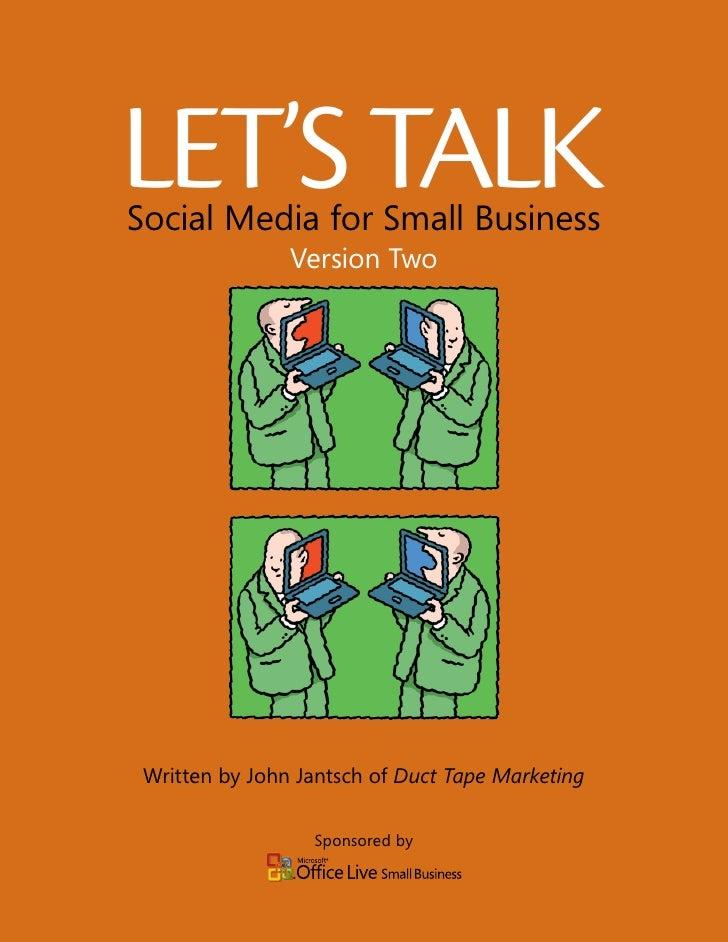 Social media para pequeñas empresas