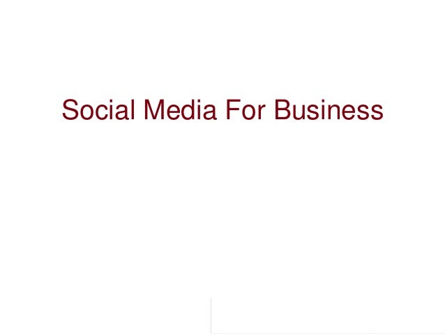 Provide Commerce Proprietary and Confidential Information Social Media For Business