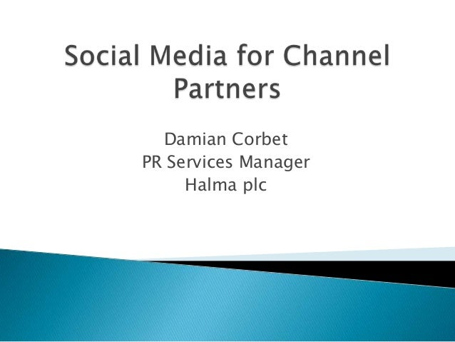 Damian Corbet PR Services Manager Halma plc