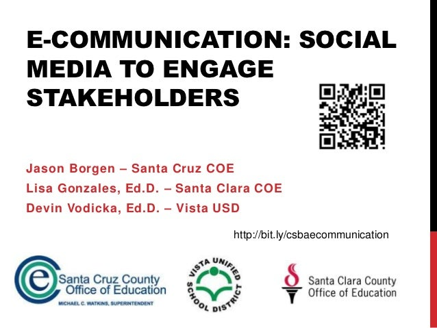 E-Communication for CSBA Conference