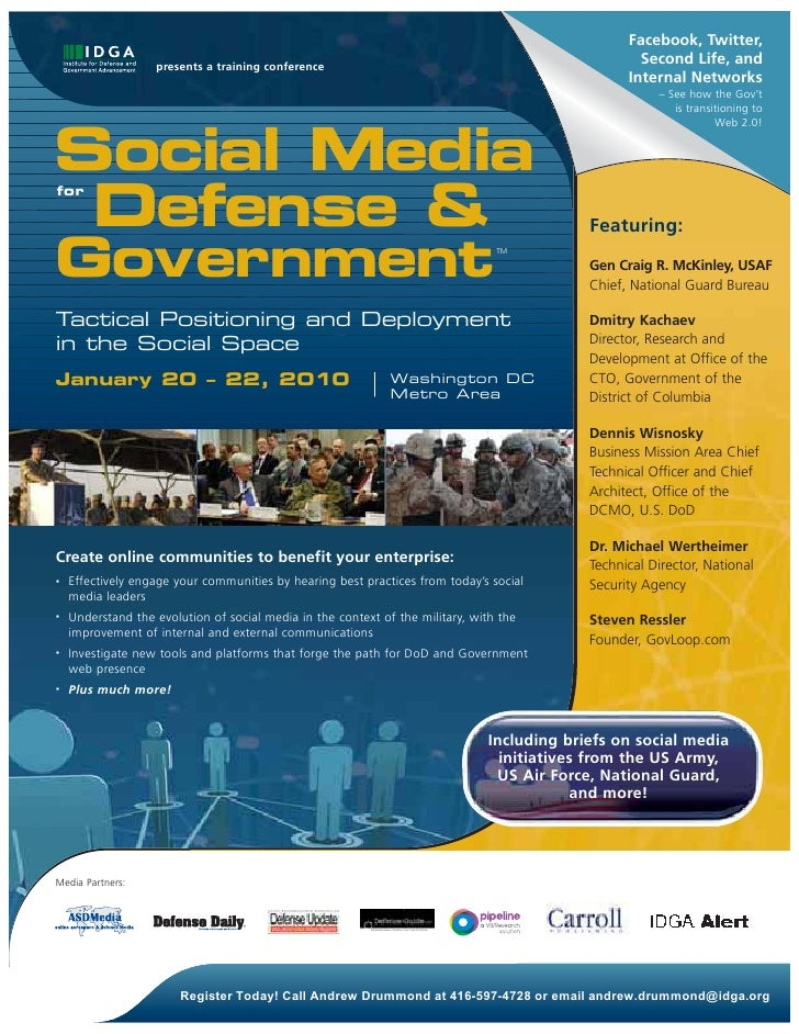 Facebook, Twitter,                    presents a training conference                                                      ...