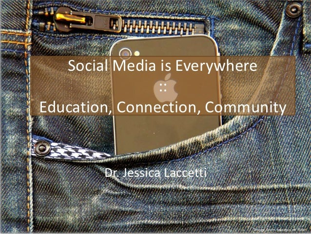 Social Media is Everywhere                ::Education, Connection, Community        Dr. Jessica Laccetti                  ...