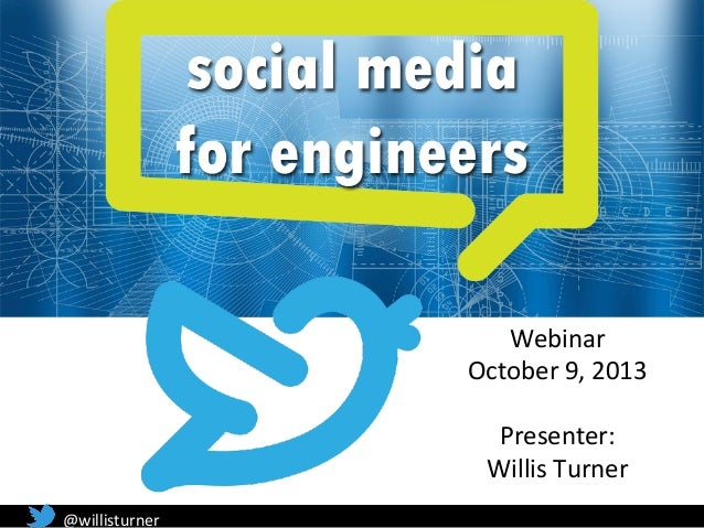 Social Media For Engineers