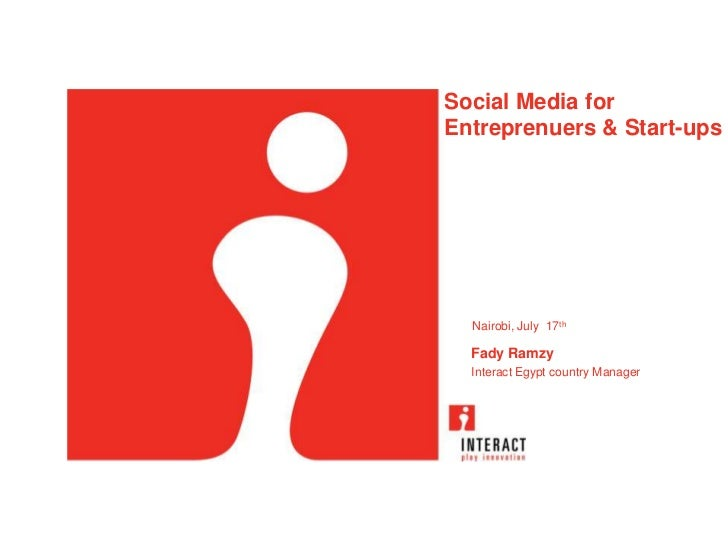 Social media for Entrp Afritech Nairobi