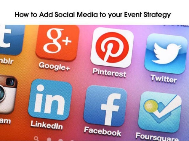 Social Media for Events