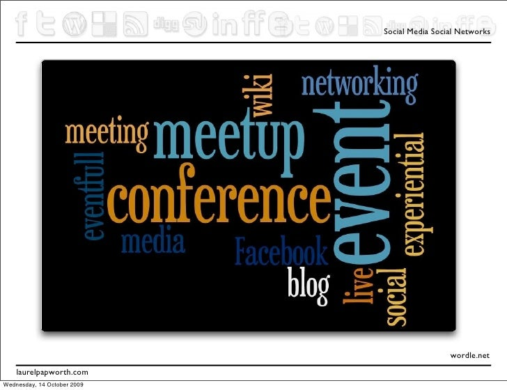 Social Media for Events and Conference Organisers