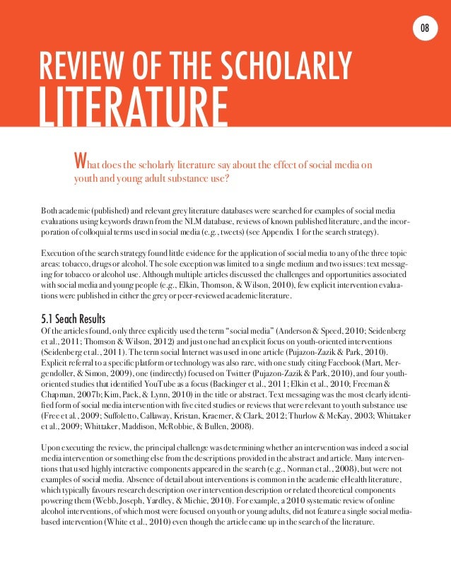 Essay on impact of literature on society