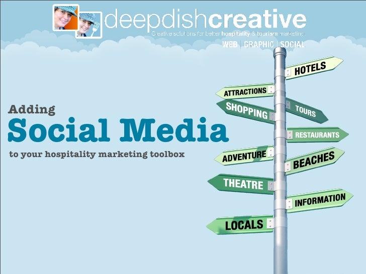 AddingSocial Mediato your hospitality marketing toolbox