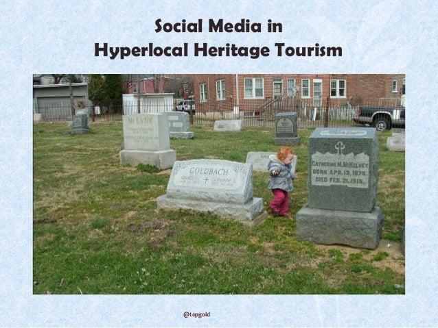 Social media for hyperlocal tourism
