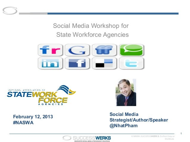 Social media for national association for state workforce agencies