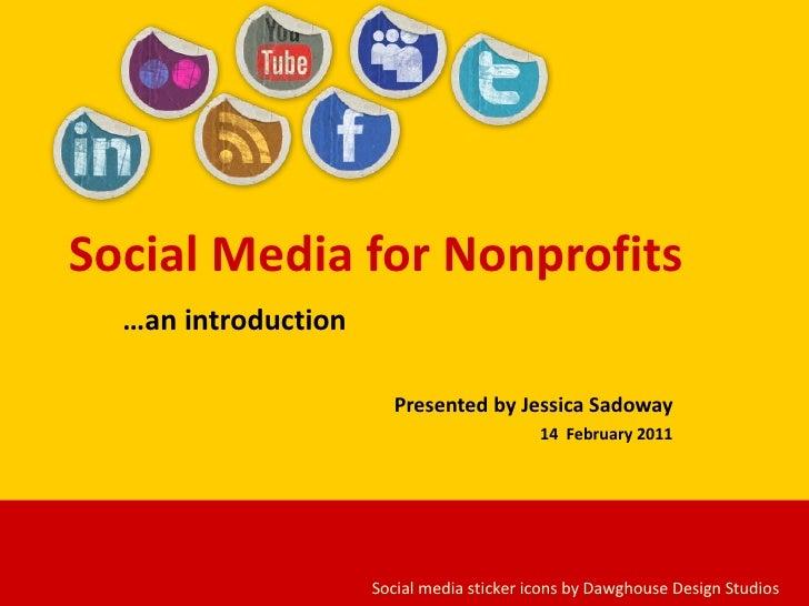 Social Media For Nonprofits By Jessica Sadoway