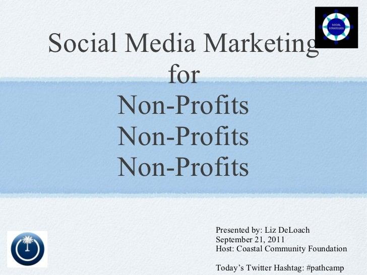 Social Media Marketing for Nonprofits