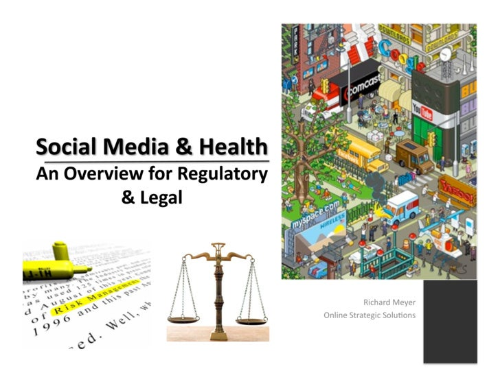 Social Media For Regulatory And Legal