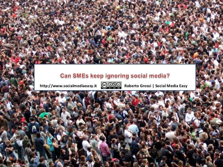 Can SMEs keep ignoring social media?