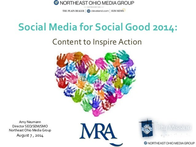 Social Media for Nonprofits and Social Good 2014