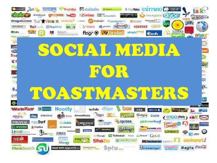 SOCIAL MEDIA     FORTOASTMASTERS