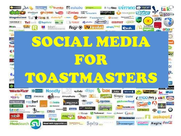 Social media for toastmasters