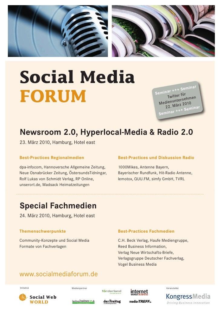 Social Media FORUM 007