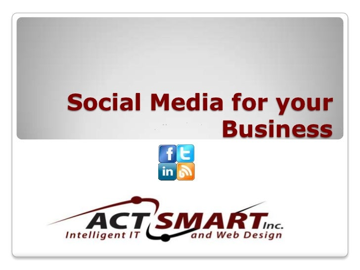 Social Media For Your Business Expo
