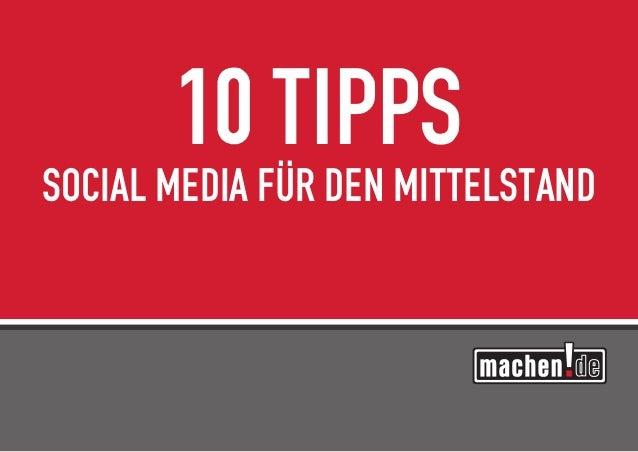 10 TippsSocial Media für den Mittelstand