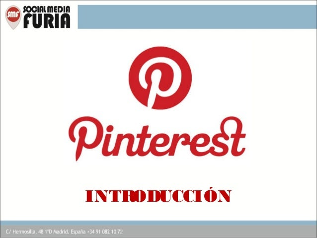 Introducción a Pinterest