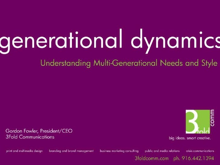 Multi-Generational Marketing in a Web 2.0 World