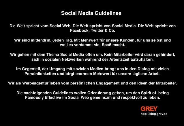 Die Welt spricht vom Social Web. Die Welt spricht von Social Media. Die Welt spricht von Facebook, Twitter & Co. Wir sind ...