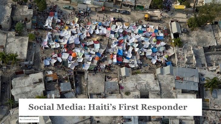 Social Media: Haiti's First Responder