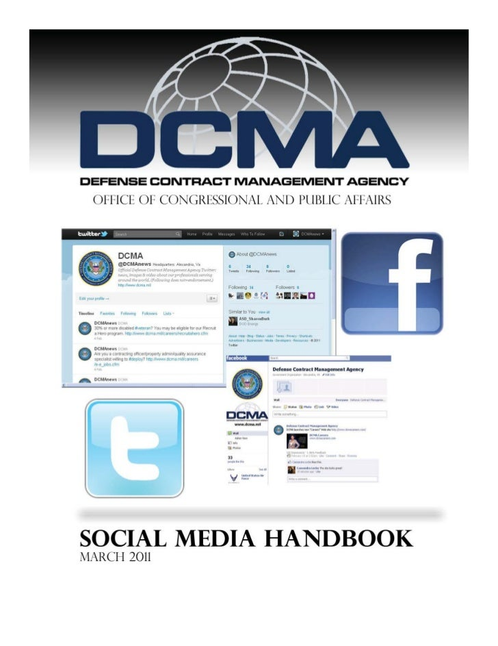 Defense Contract Management Agency Social Media Handbook