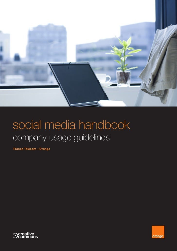 social media handbookcompany usage guidelinesFrance Telecom – Orange