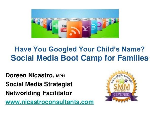Social Media for Families