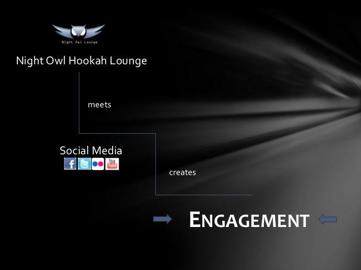 Social media hookah bar