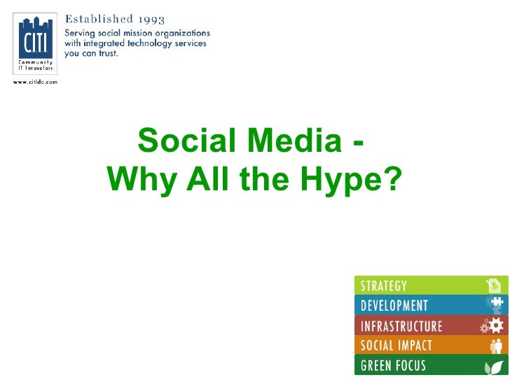 Social Media: Why All The Hype