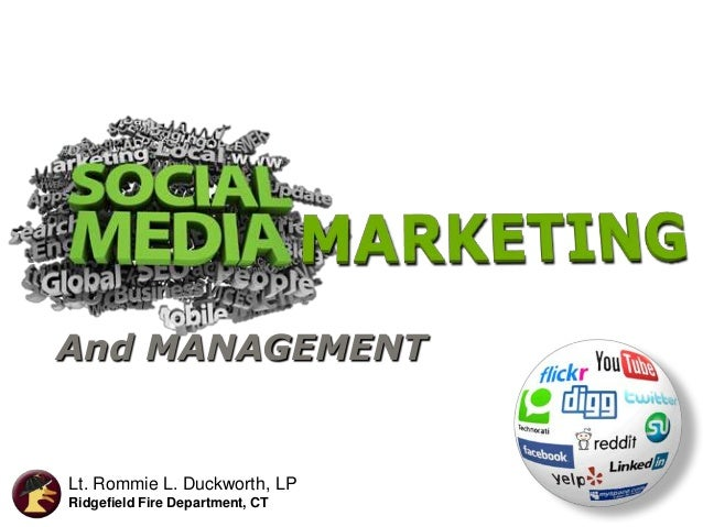 Social Media Marketing for your Department