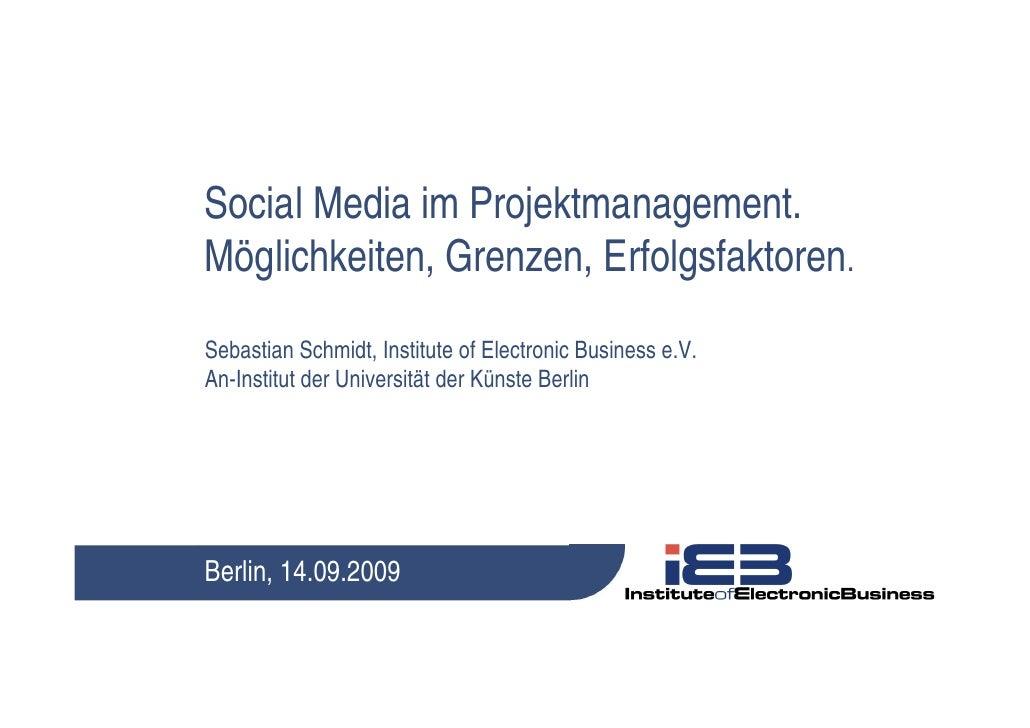 Social Media im Projektmanagement
