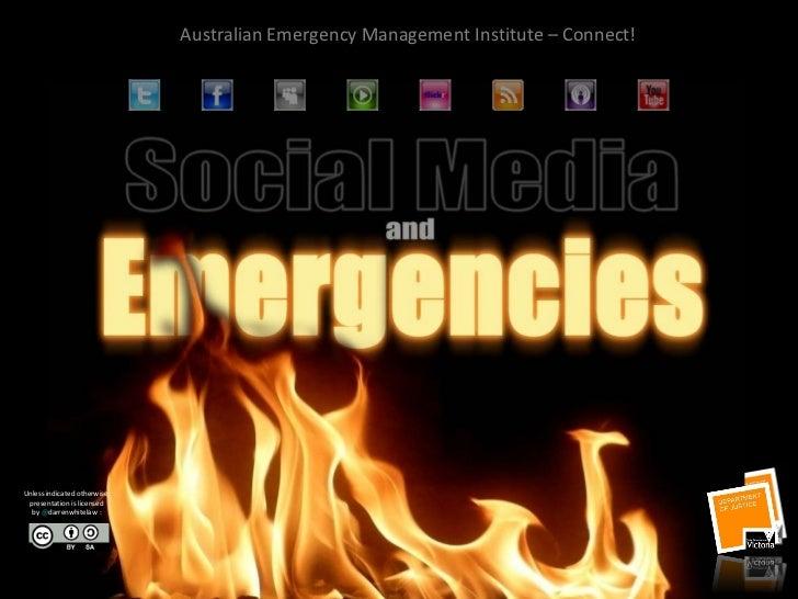 Social media in a crisis - Australian Emergency Management Institute