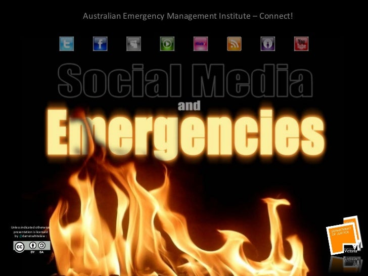 Social media in a crisis - Australian Emergency Management Institute