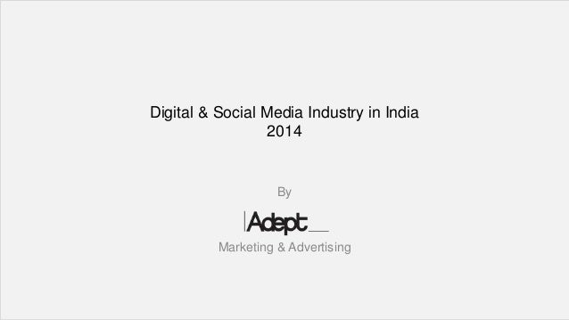India Advertisement 2014 Industry in India 2014 by