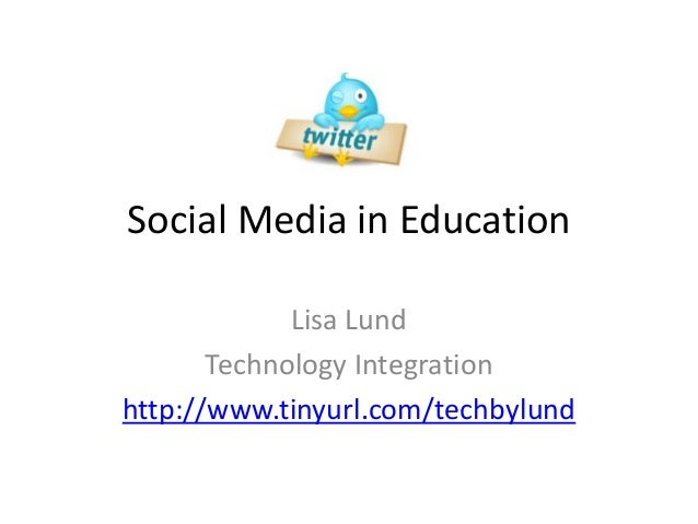 Social media in education 2