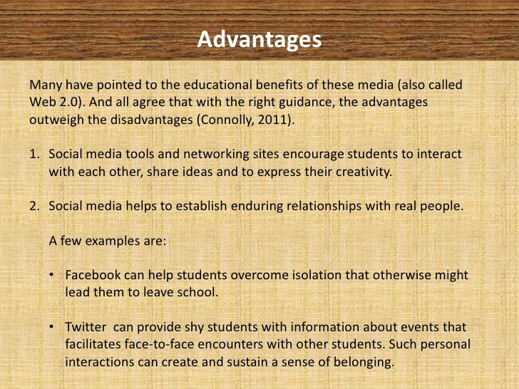 essay on internet advantages and disadvantages for students Advantage disadvantage essay: (available to download if you do an internet search or available from more and more students are choosing to study at colleges.