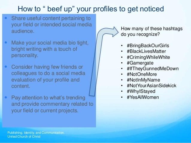 Social Media Bios Make Your Social Media Bio