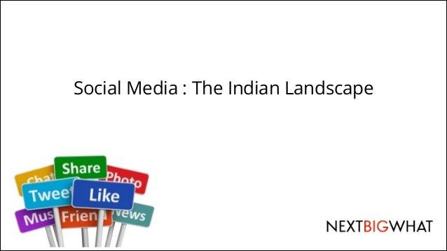 !  Social Media : The Indian Landscape
